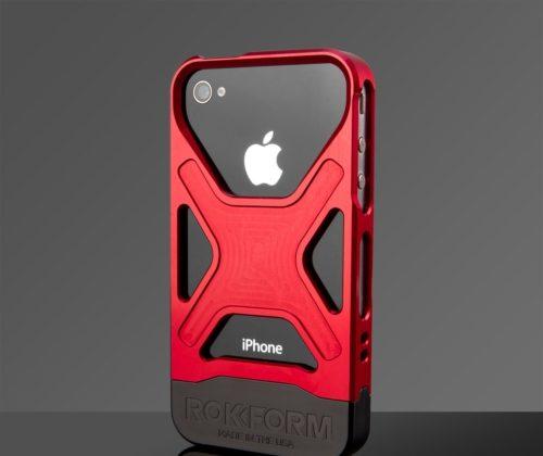 The Rokbed Fuzion iPhone 4/4S case. (PRNewsFoto/Rokform)