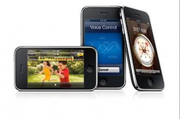 CELL PHONES: The iPhone 3G is still a few steps ahead of the Android.  (Courtesy of Apple)