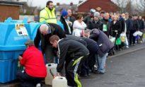 Northern Irish Households Waterless