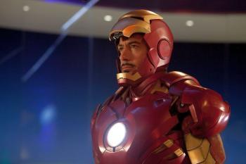 Robert Downey Jr. as billionaire Tony Stark in 'Iron Man 2.' (Industrial Light & Magic/Marvel)