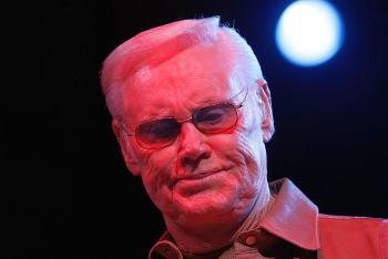 Country singer George Jones. (Michael Buckner/Getty Images)
