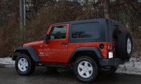 Jeep Wrangler X—Built Tough, Go Rough