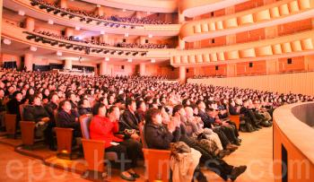 Shen Yun Performing Arts International Company's premiere in Goynag Arum Nuri attracts many top Korean artists and celebrities on January 29, 2011. (Kim Kuo Huan/The Epoch Times)