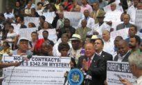 Senators and Parents Protest Mayor's School Control