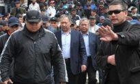 Kyrgyz President Flees the Country