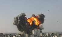 Israeli Forces Push Deeper Into Gaza Strip
