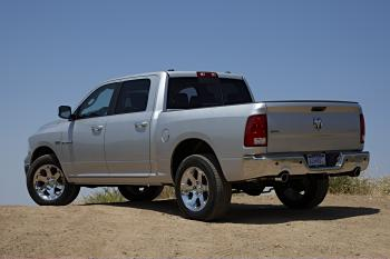 2009 Dodge Ram in action (Courtesy of Dodge Motors)