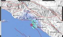 Small Earthquake Shakes Los Angeles