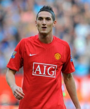A STAR IS BORN: Young Italian Federico Macheda's curling shot gave Manchester United a big win over Aston Villa on Sunday. (ANDREW YATES/AFP/Getty Images)