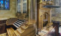 Manton Memorial Organ Making Its First Sounds