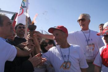 Participants of the Peace Marathon, last year. (Yaira Yasmin/The Epoch Times)