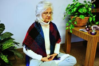 Not only does meditation help slow down the aging process, it also provides inner peace, reduces the risk of disease, and can even add years to your life.  (Cat Rooney/The Epoch Times)