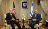 Sen. Mitchell Visits Israel as Tension Builds