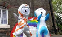 London 2012 Olympic Mascots Debut to the World