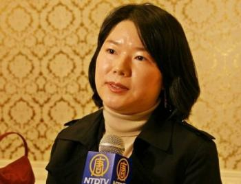 Eun-Jun Wie is a member of Lawyers For Democratic Society, a strong lawyers' organization in South Korea. (The Epoch Times)