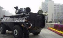 Martial Law Enforced Around Tiananmen on National Day