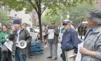 Protesters Claim 'Neo-Nazi' in UES