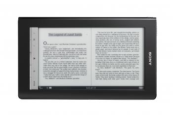 READERS: The Sony Reader Daily Edition.  (Courtesy of Sony)