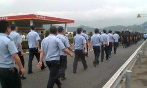 3,000 Ningbo Salt Farmers Protest Met Armed Force