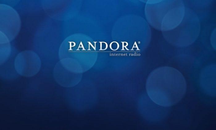 Screenshot from Pandora.com