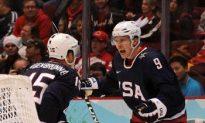U.S. Olympic Men's Hockey Team Squeaks by Swiss