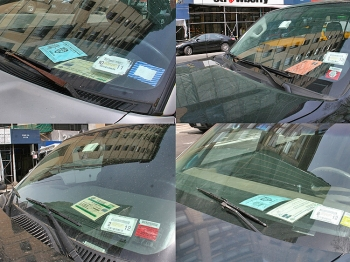 TRUE OR FALSE? One of four parking permit placards are fake, according to a new report by Transportation Alternatives. One of the challenges to effective enforcement is the confusing plethora of permits, said councilman Daniel Garodnick.