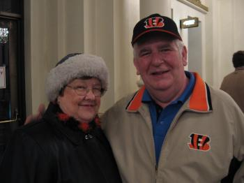 Mr. and Mrs. Gaunt traveled to see the DPA show. (Epoch Times Staff)