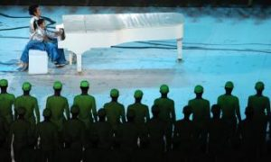 Fake Piano Featured at Olympic Opening Ceremony