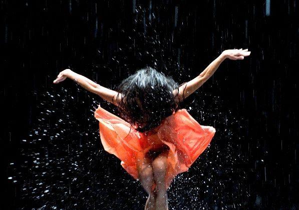 Ditta Miranda Jasjfi in 'Vollmond' as shown in Wim Wenders's new film 'Pina.(Donata Wenders/ Sundance Selects)