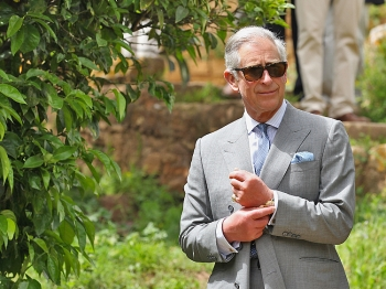 Prince Charles in Morocco on April 5. (Chris Jackson/Getty Images)