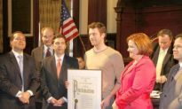 Actor Turned Subway Hero Honored by City Council