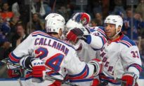 Rangers Edge Back Into Series, Stun Capitals in Game 3