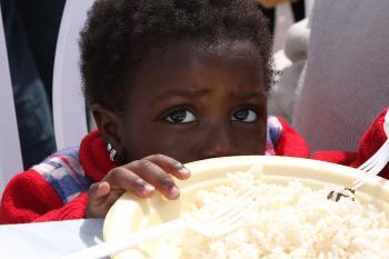 A young refugee girl. Yaira Yasmin/The Epoch Times (Yaira Yasmin/The Epoch Times)
