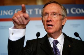 U.S. Senate Majority Leader Sen. Harry Reid (D-NV). (Alex Wong/Getty Images)
