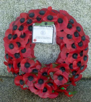 Memorial Park, Islandbridge,where the Irish National War Memorial commemorates the estimated