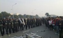 Riot Police and Strikers Clash at Jiangsu Manufacturing Plant