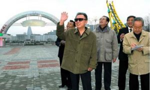 North Korean Leader Seen Sneaking into China