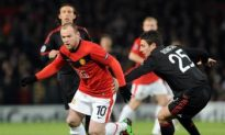 Rooney Nets Twice as Manchester United Crush AC Milan in Champions League