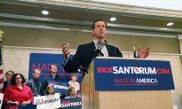 Romney and Santorum in Tight Contest