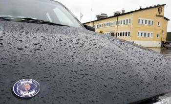 Sweden's auto industry is feeling the effect of the global recession. (Anderson Andersson/AFP/Getty Images)