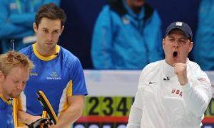 U.S. Olympic Men's Curling Team Squeaks by Sweden 8—7