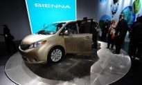 Toyota Announces Sienna Recall