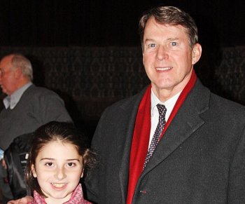 Attending the Shen Yun performance at Proctors was Michael Robert McNulty, who served as a U.S. Congressman for 20 years, retiring in 2009. He attended the Shen Yun performance with his granddaughter. (Tara MacIsaac/The Epoch Times)
