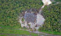 Louisiana's Bayou Corne Sinkhole Reaches Historic Proportions