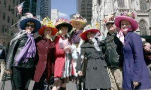 Easter Bonnets on Parade