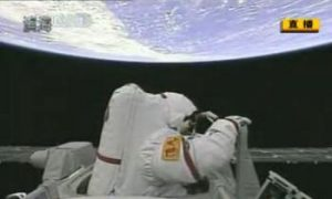 Chinese Space Walk Filmed in Water, Say Chinese Bloggers