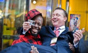 Wyclef Raises Charity Money, Promotes Western Union