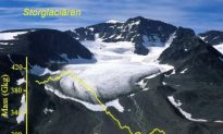 Sweden's Highest Mountain Is Shrinking