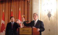 Ottawa Reception Celebrates Taiwan's National Day