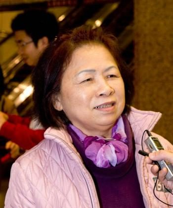 Chen Zimei, former director of Dance Association of Keelung City. (Tang Bin/The Epoch Times)